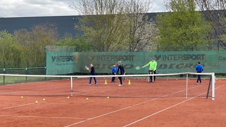 Kennenlern-Training mit der Tennisschule TT